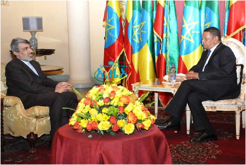 Ethiopia will provide support for Iranian