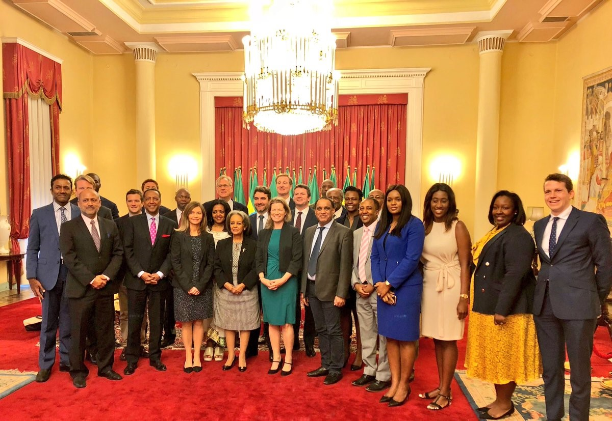 President Sahlework receives Invest Africa1 business delegation