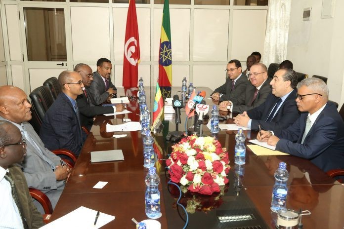 Tunisian Businessmen Exploring Possibilities of Investing in Ethiopia